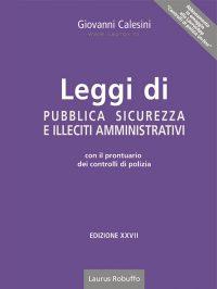 M2_Laurus_Leggi_di_pubblica_sicurezza_e_illeciti_amministrativi_Calesini_copertina