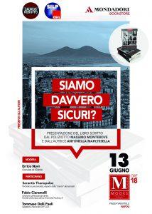 Presentazione 'Siamo davvero sicuri' 13 giugno Napoli