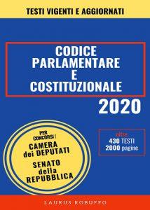 A70 Codice Parlamentare e Costituzionale copertina 400px